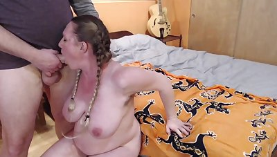 Bed Creaking Fucking Facile Bunnie Lebowski Ends In Facial And Cum Kissing