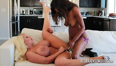 Blonde Mature Alura Jenson has Huge TITTIES