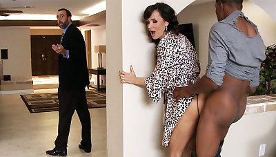 Spouse returned when housewife rails BIG Coloured Horseshit