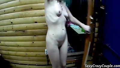 Tiffany Get Fisting In Russian Bath