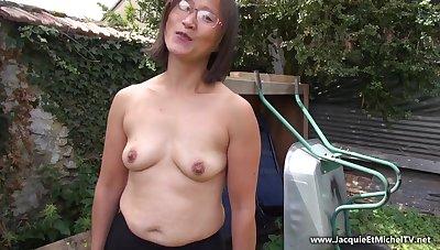 Asian MILF - Hard Evil-minded Ass Fuck Annulment