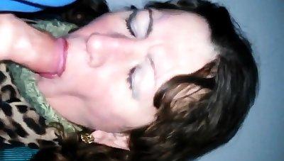 Russian mature slut blowjob