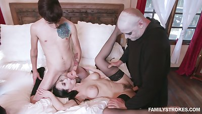 Addams family parody reveals round the bend scenes of rough sex