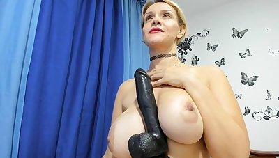 Lewd spanish MILF webcam hot video