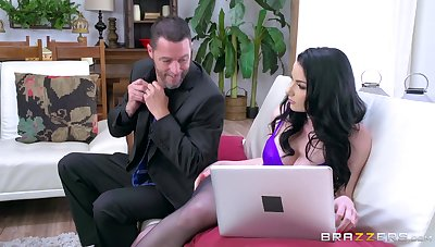Fine ass shady finger fucked in both holes and drilled in cuckold XXX